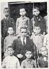 Miguel Hernández en el colegio con sus compañeros y maestro