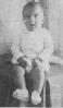 Retrato de Manuel Ramón a los seis meses