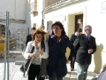 Mónica Lorente visita la Casa de Miguel Hernández