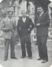 Manuel Molina, Carlos Fenoll y Vicente Ramos