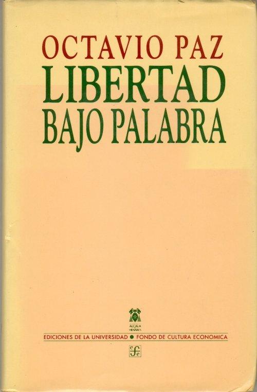 Libros De Octavio Paz
